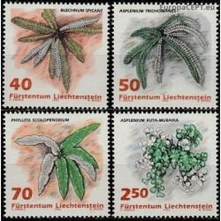 Liechtenstein 1992. Plants
