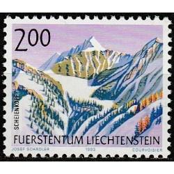 Lichtenšteinas 1993. Kalnai