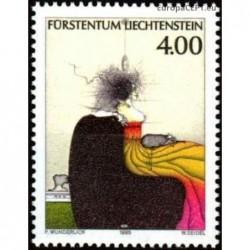 Liechtenstein 1995. Painting