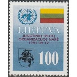 Lietuva 1992. Narystė...
