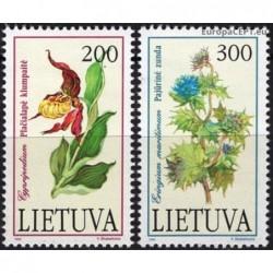 Lithuania 1992. Endangered...