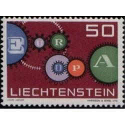 Liechtenstein 1961. EUROPA:...