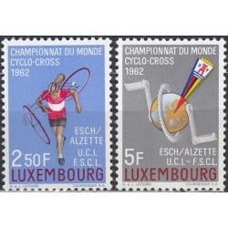 Luxembourg 1962. Cyclo-cross