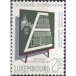 Liuksemburgas 1963. Europos...