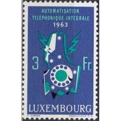 Liuksemburgas 1963. Telefonija