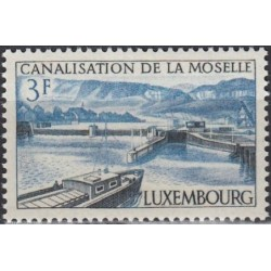 Luxembourg 1964. Moselle river