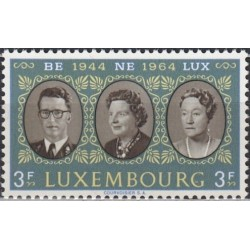 Luxembourg 1964. Royals of...