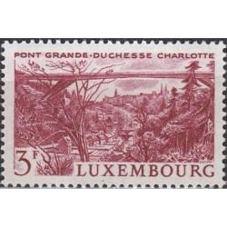 Luxembourg 1966. Bridge of...