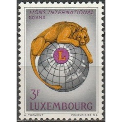 Luxembourg 1967. Lions...