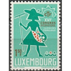 Luxembourg 1967. Gardeners