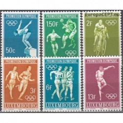 Luxembourg 1968. Olympic...