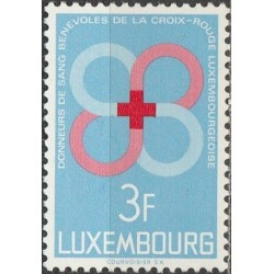Luxembourg 1968. Red Cross