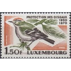 Luxembourg 1970. Birds...