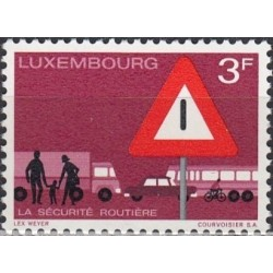 Luxembourg 1970. Road...