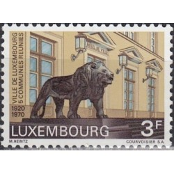 Luxembourg 1970. Communes