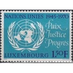 Luxembourg 1970. United...