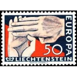 Liechtenstein 1962. EUROPA:...
