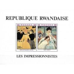 Rwanda 1980. French...