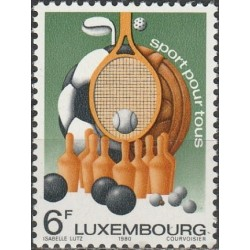 Luxembourg 1980. Sports