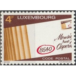 Luxembourg 1980. Postal codes