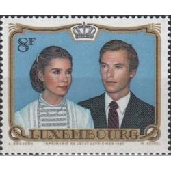 Luxembourg 1981. Wedding of...