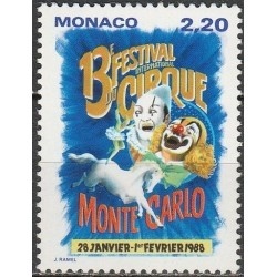 Monaco 1987. Circus