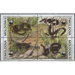Moldova 1993. Snakes