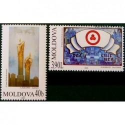 Moldova 2003. Paintings