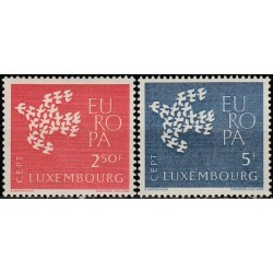 Luxembourg 1961. CEPT:...