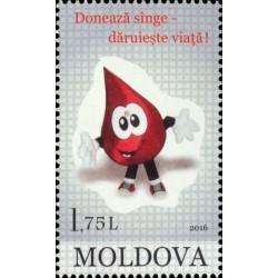 Moldova 2016. Blood donation