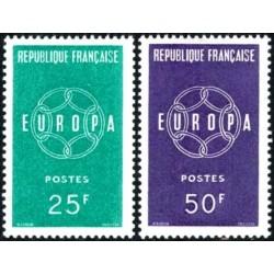 Prancūzija 1959. Europa...