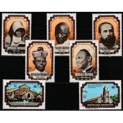 Ruanda 1976. Krikščionybės...