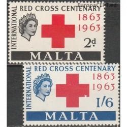 Malta 1963. Red Cross