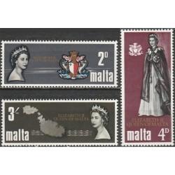 Malta 1967. Elžbietos II...