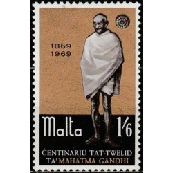Malta 1969. Mahatma Gandis