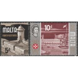 Malta 1970. Fortifications