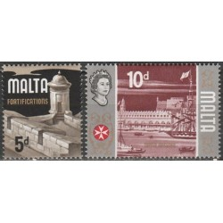 Malta 1970. Tvirtovės