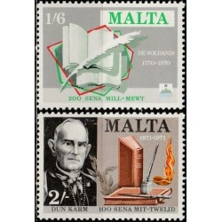 Malta 1971. Rašytojai
