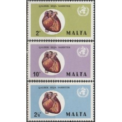 Malta 1972. World Heart month
