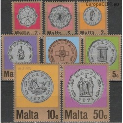 Malta 1972. New currency