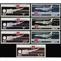 Malta 1974. Oro linijos