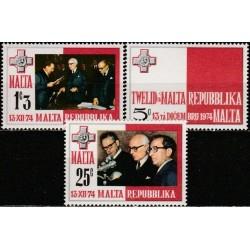 Malta 1975. Respublikos...