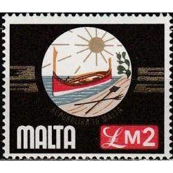 Malta 1976. National emblem