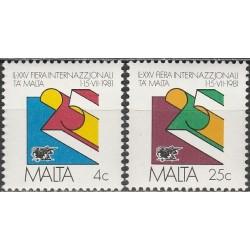 Malta 1981. International fair