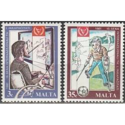 Malta 1981. Neįgalieji