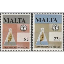 Malta 1981. World Food day