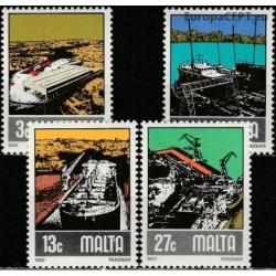 Malta 1982. Ship transport