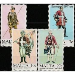 Malta 1987. Military uniforms