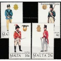 Malta 1988. Military uniforms