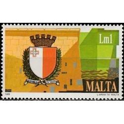 Malta 1989. Naujas herbas